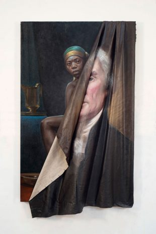 Image Credit: Titus Kaphar, Behind the Myth of Benevolence, 2014, oil on canvas, 59 x 34.25 x 7 inches
