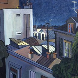 Image Credit: Lois Mailou Jones, Paris Rooftops, Montmartre, 1965, Courtesy of the Lois Mailou Jones Pierre-Noel Trust