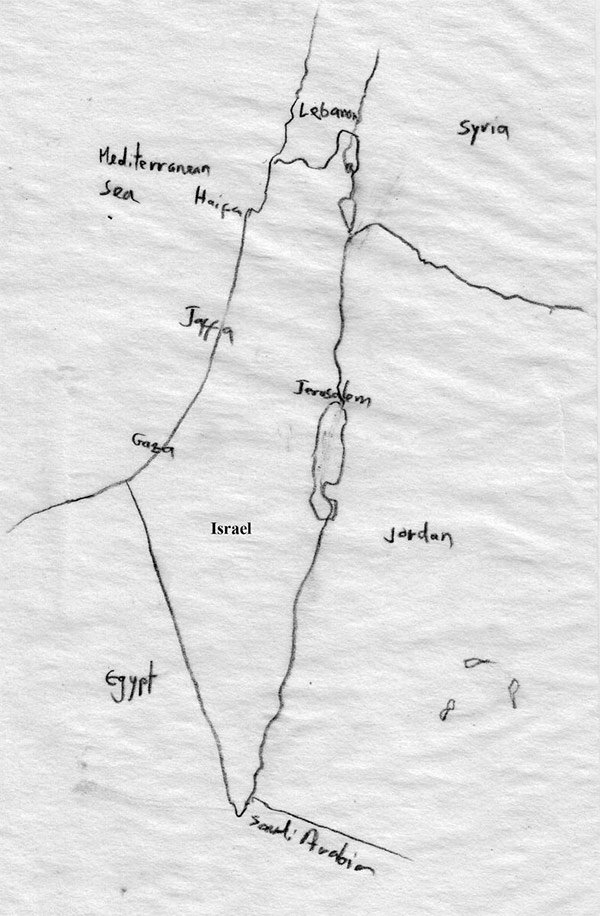 Map of Palestine/Map of Israel