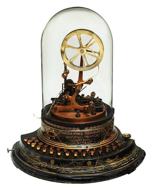 tock Ticker, (1873), Thomas Alva Edison