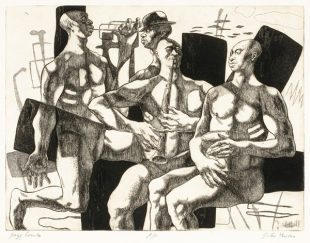 Image Credit: John Fenton, Jazz Combo, (1965) n.a., etching and aquatint, Smithsonian American Art Museum, Gift of Donald Vogler, 1980.