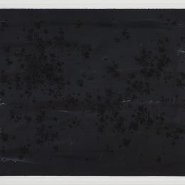 Image Credit: Bethany Collins, Too White To Be Black, (2014). Graphite, charcoal, and latex paint on Arches paper 29 × 41 in. © Bethany Collins, Courtesy of Patron Gallery, Chicago.